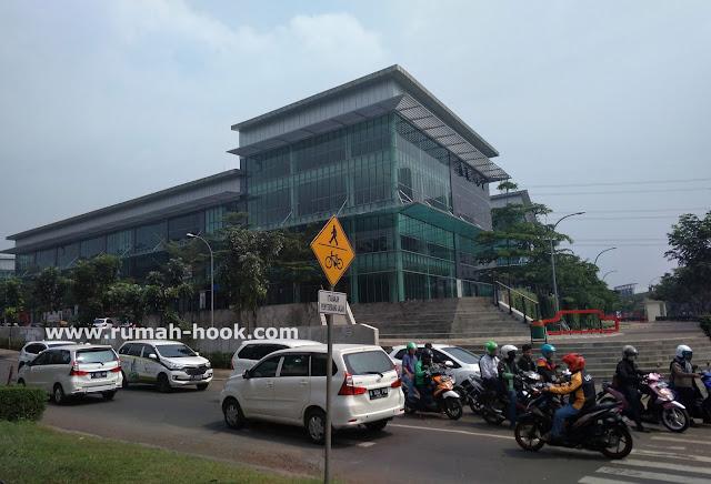 Jual Ruang Kantor Space Office Disewakan di Tangerang Selatan www.rumah-hook.com