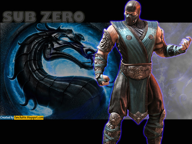Sub Zero Logo Wallpaper