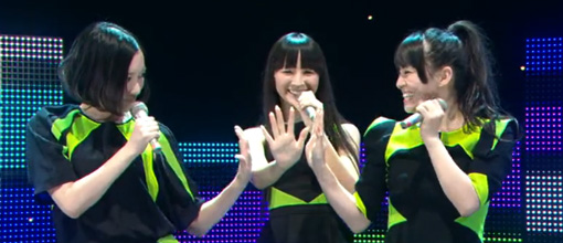Perfume perform '575' and 'Voice' @ Music station | Live performance