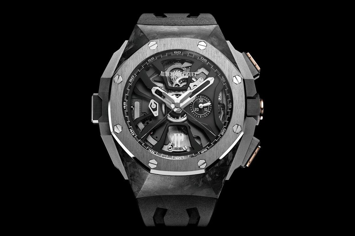 Audemars piguet royal oak concept laptimer michael schumacher time and watches for Audemars watches