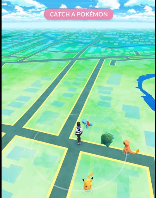 Langkah 3, Cara Paling Mudah Mendapat Pikachu di Pokemon Go
