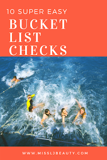 pin 10 bucket list items