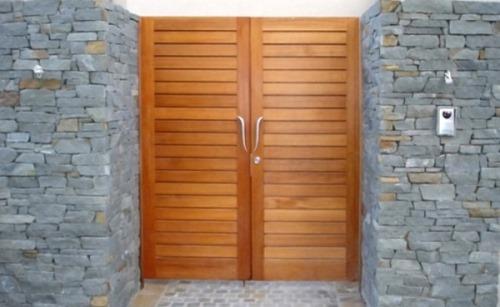 Desain kerikil alam untuk dinding rumah minimalis Rancangan Batu Alam untuk Dinding Rumah