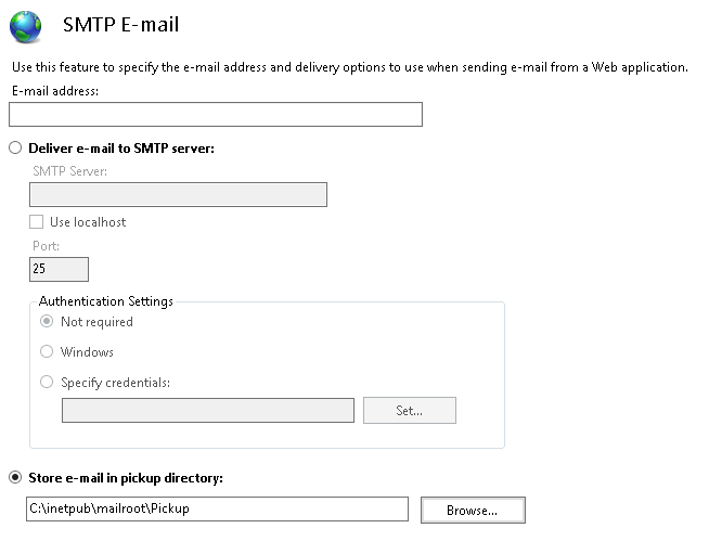 Ryan Bailey Development: SMTP configuration for mail relay