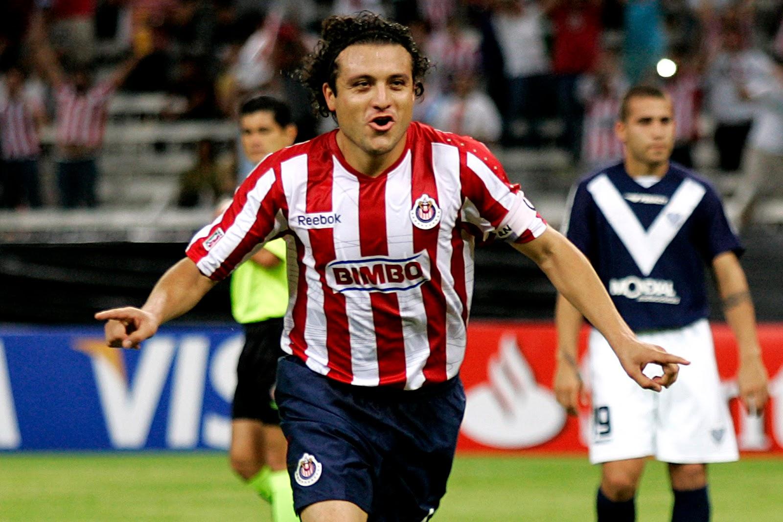 El exjugador Rojiblanco, Héctor Reynoso.