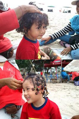 trip-wisata-bali-pantai-kuta-kepang-rambut