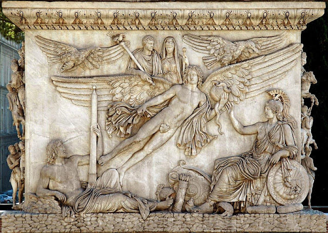 Gjcl Classical Art History The Column Of Antoninus Pius
