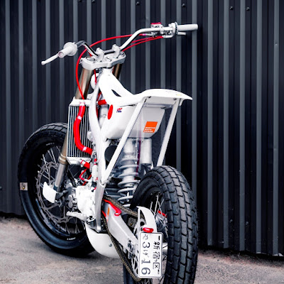 Honda CRF 450 Super Motard