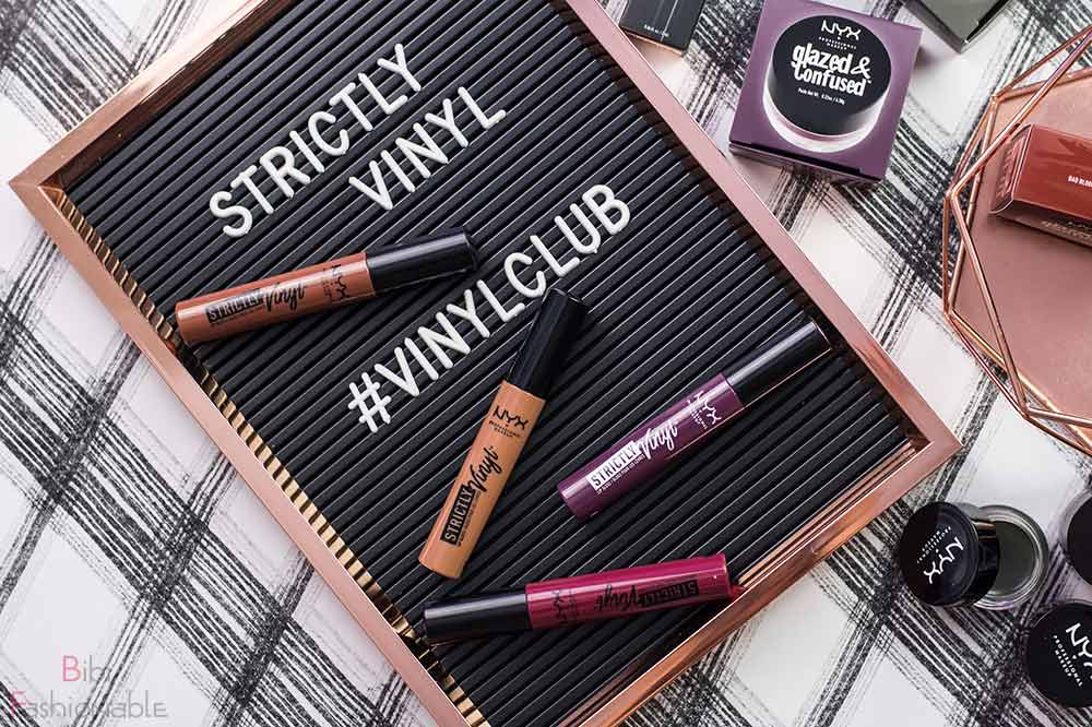 NYX Professional MakeUp Strictly Vinyl Lipgloss Flatlay