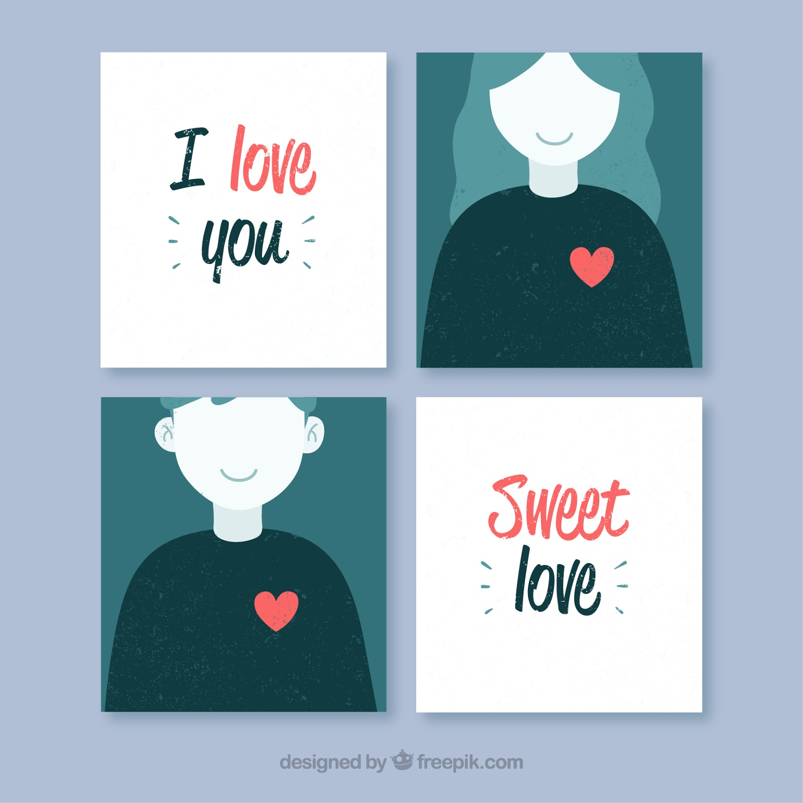 Día del amor tarjetas