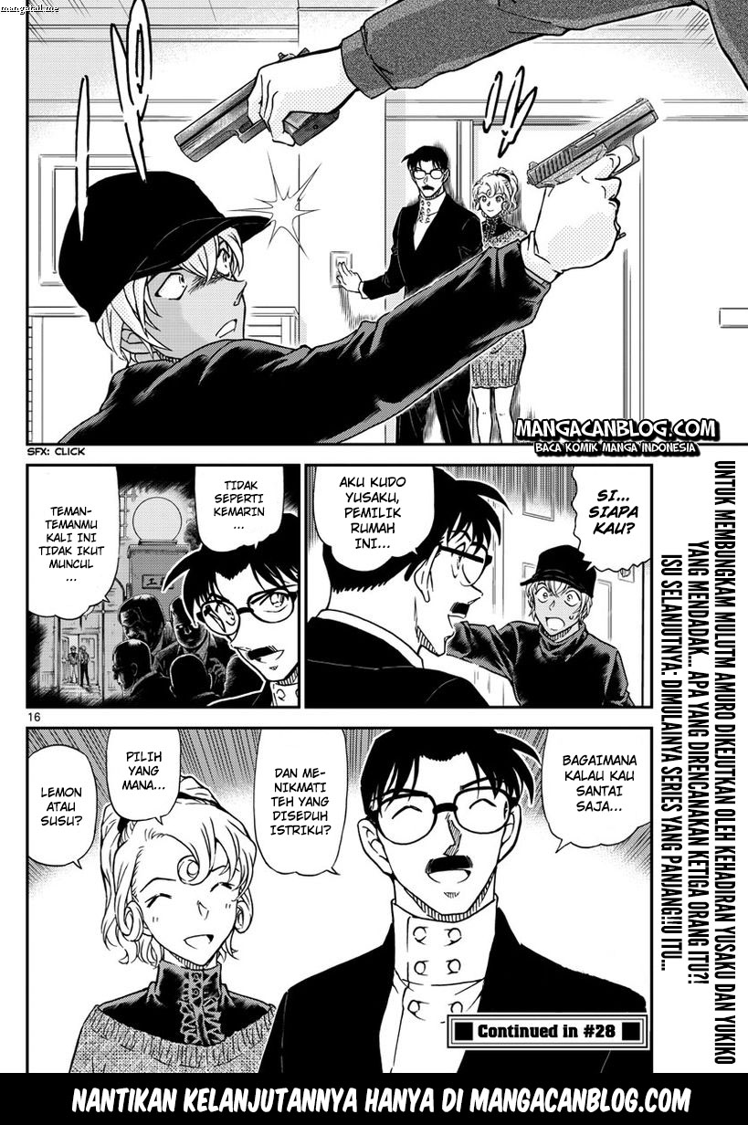 Detective Conan Chapter 1012-16