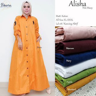 Alisha Polo Maxy by Denora Fashion
