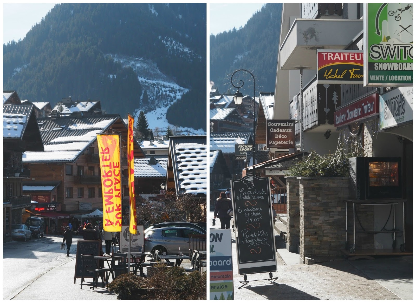 Skiing French Alps Chatel Chapelle Priceless Life of Mine Over 40 lifestyle blog