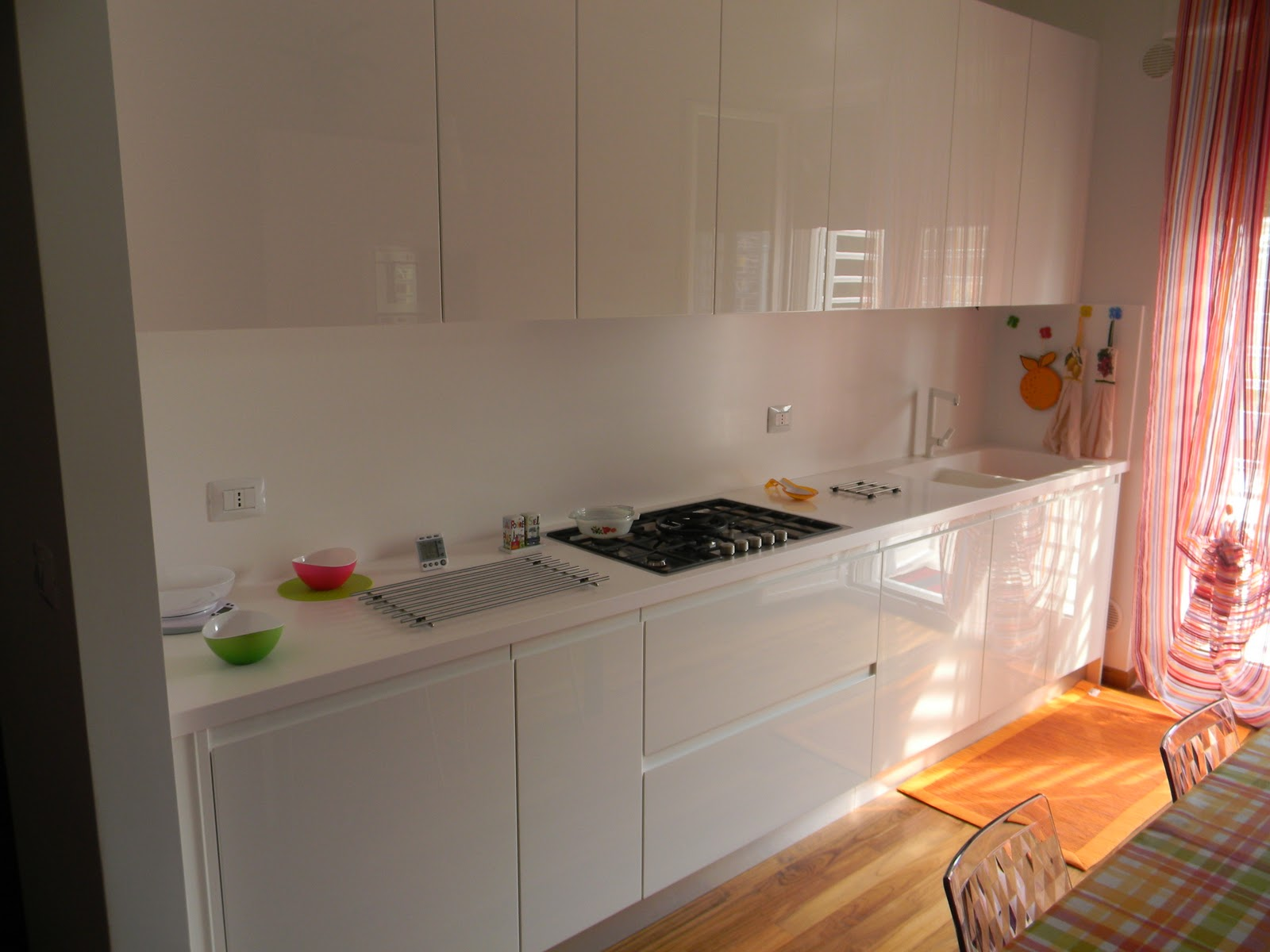 Carlino Antonio: Cucina Laccata bianca Lucida