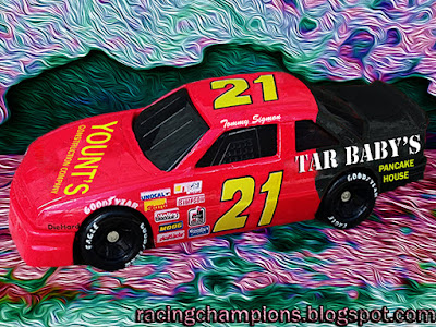 Tommy Sigmon #21 Tar Baby's Pancake House Buick Myrtle Beach Yount's Construction NASCAR Racing Champions 1/64 NASCAR diecast 1993 BGN Busch