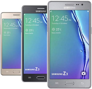Flipkart Offer: Get Samsung Z3 Dual-sim 3G Handset at just RS.5,600