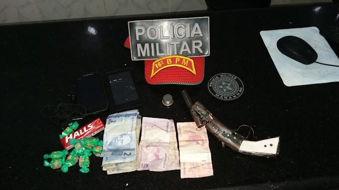 POLÍCIA MILITAR DE SÃO BERNARDO E SANTA QUITÉRIA PRENDEM DUPLA APÓS ASSALTO A FARMÁCIA.