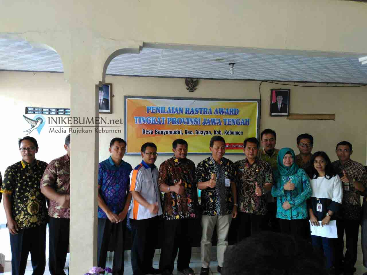 Maju Lomba Rastra Award Tingkat Jateng, Desa Banyumudal Ditarget Juara Satu