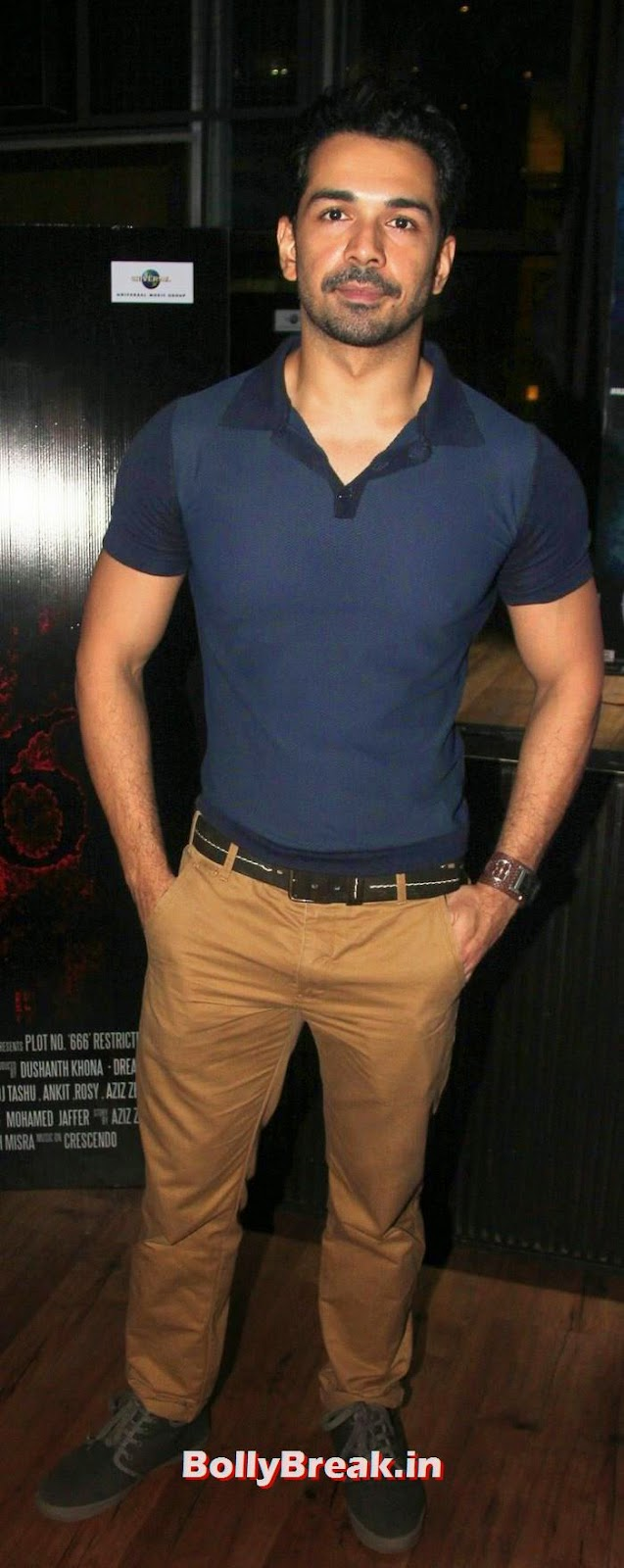 Abhinav Shukla, Daisy Shah, shibani Kashyap at Plot No 666 - Restricted Area Movie Music Launch
