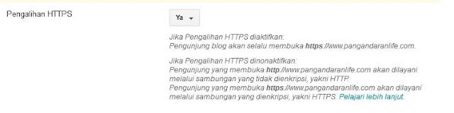 car menjadikan https untuk blogspot custom domain