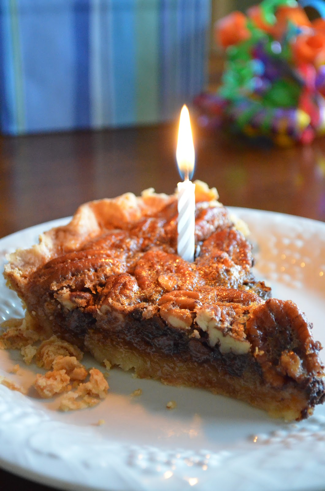 Pie On Sunday Turning 7 And Chocolate Chip Pecan Pie