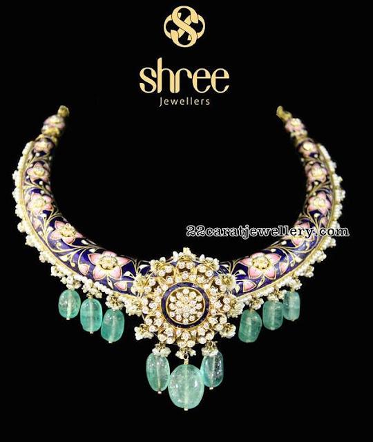 Flat Diamond Stylish Sets by Shree Jewellers