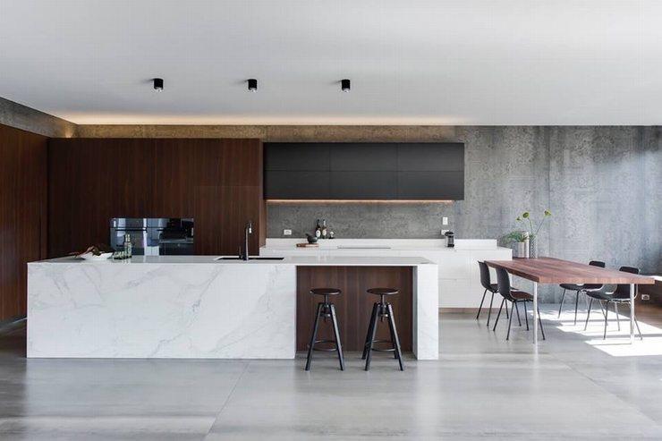 thiết kế thi công nội thất nhà bếp độc đáo 16