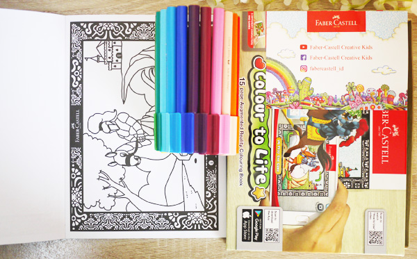 colour to life augmented reality colouring book