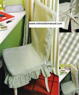 Fundas para sillas mimundomanual - Funda silla escritorio ...
