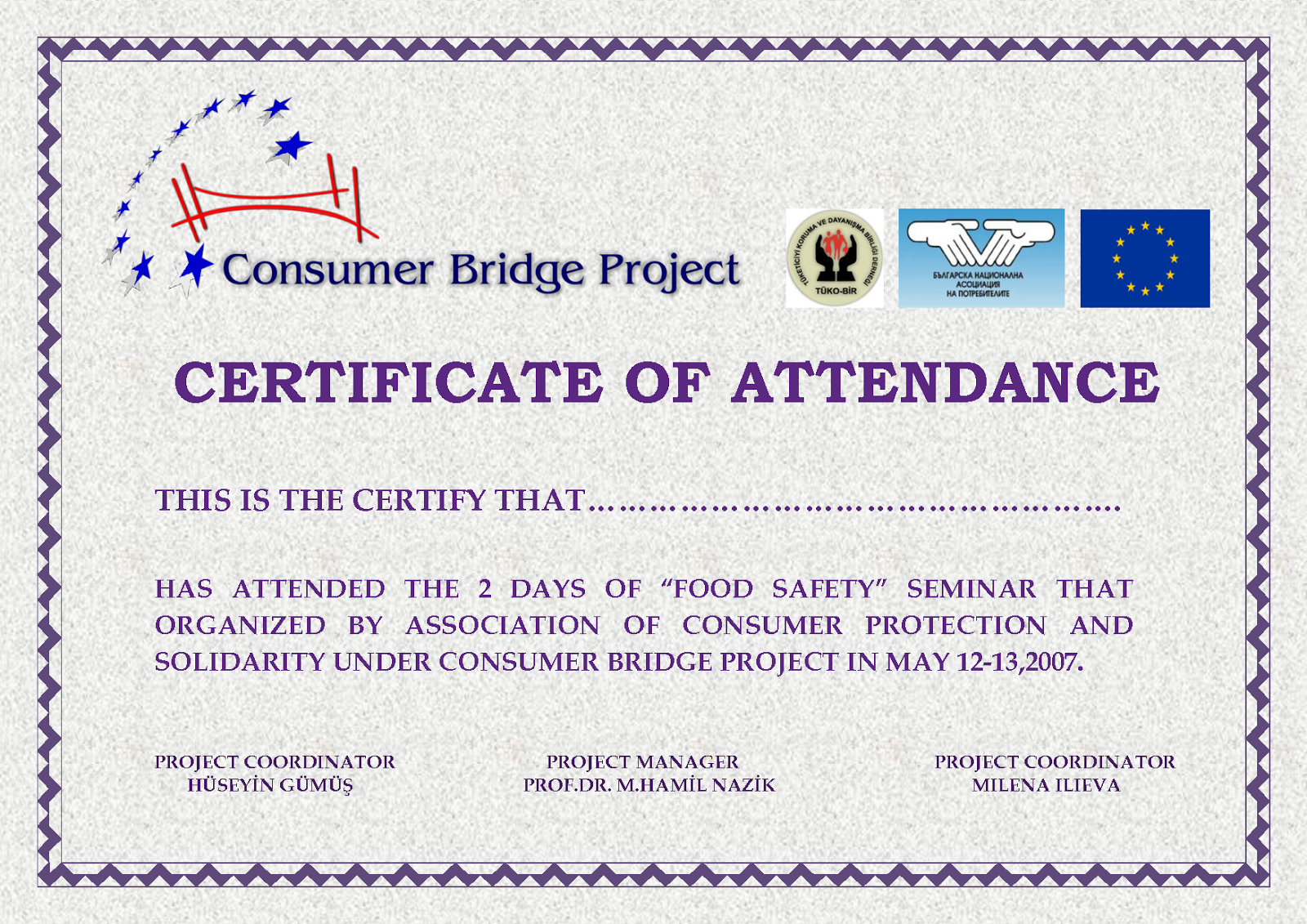 Perfect Attendance Certificate Templates Free Download DTemplates – Award Templates Word