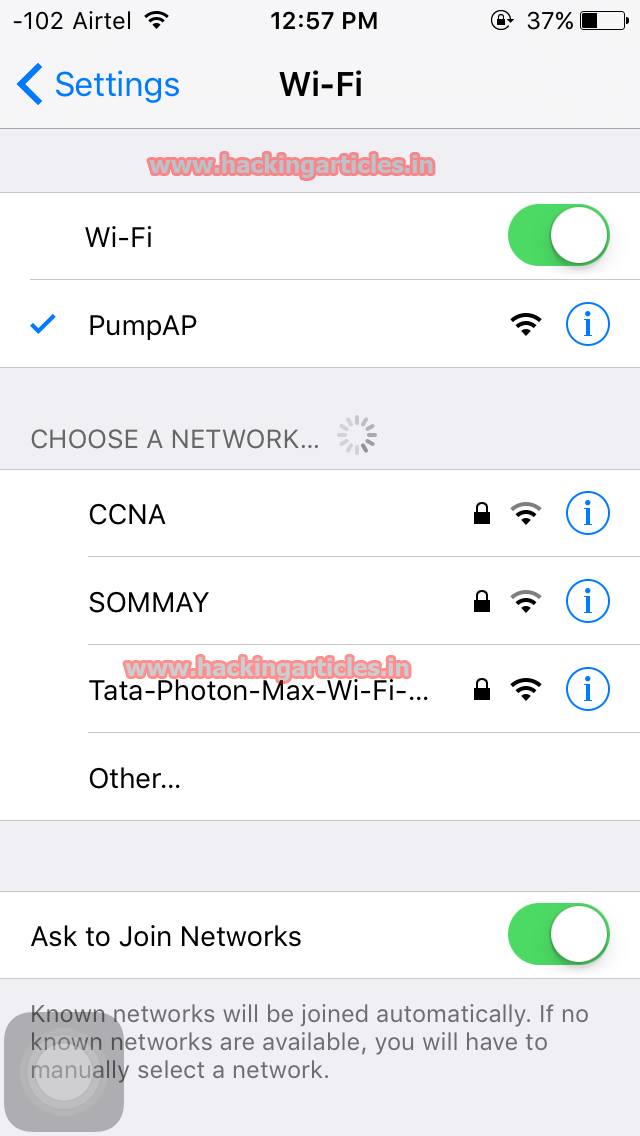 Hack Password using Rogue Wi-Fi Access Point Attack (WiFi