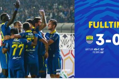 Persib Bandung vs Persipura 3-0 Highlights