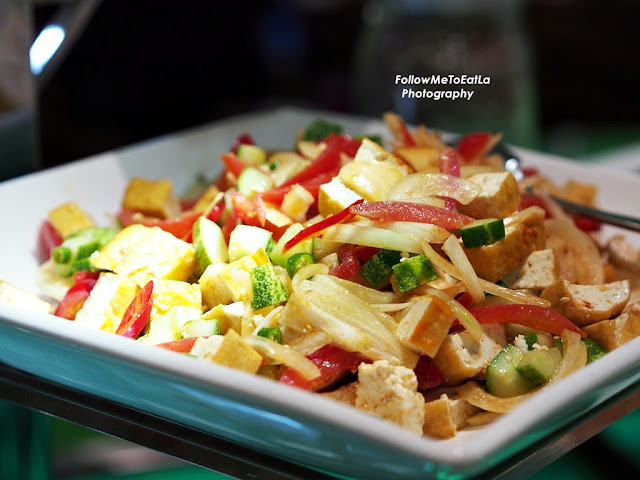 Tauhu Cube Indian Salad