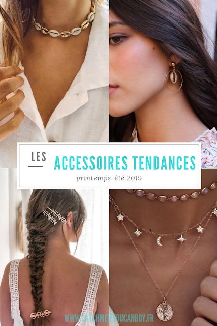 Accessoires tendances 2019