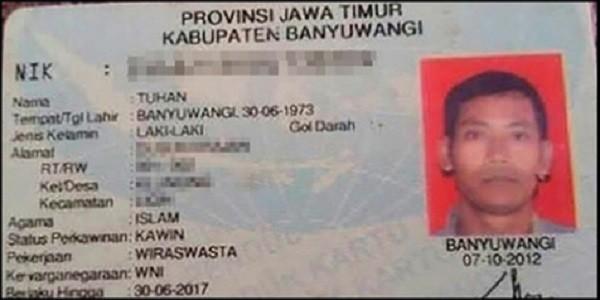 Ini dia daftar orang dengan nama lucu yang ada di Indonesia
