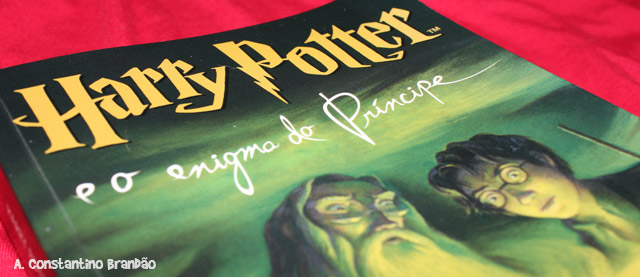 capa do livro Harry Potter e o enigma do príncipe