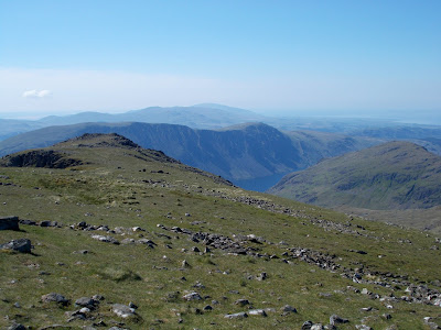 west cumbria from the wasdale fells