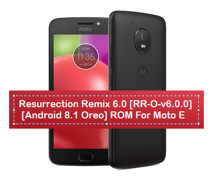 Unofficial Resurrection Remix 6 0 [RR-O-v6 0 0] [Android 8 1 Oreo