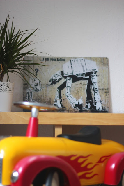 Blechschild mit Star Wars-Motiv von bimago.de