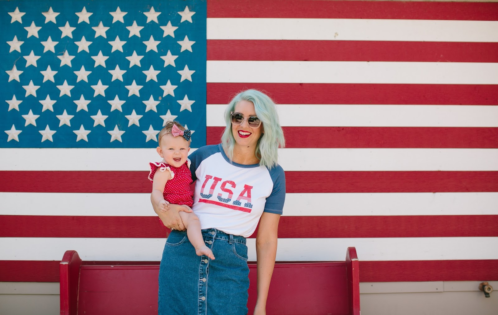 USA Outfit, Utah Fashion Blogger