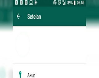 Cara Membuat Nama Profil Whatsapp (WA) Kosong atau Blank