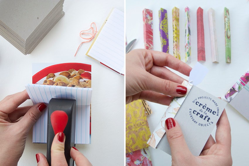Cereal box diy crafthubs my diy cereal box notebook business cards ccuart