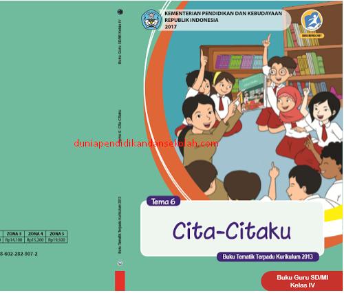 Unduh Buku Guru Dan Siswa Kelas 4 Sd Tematik Semester 2 Kurikulum 2013 Revisi 2017 Dunia