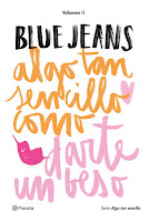 LIBRO - Algo tan sencillo como darte un beso  Blue Jeans (Planeta - 28 Abril 2016)  NOVELA ROMANTICA  Edición papel & digital ebook kindle  Comprar en Amazon España