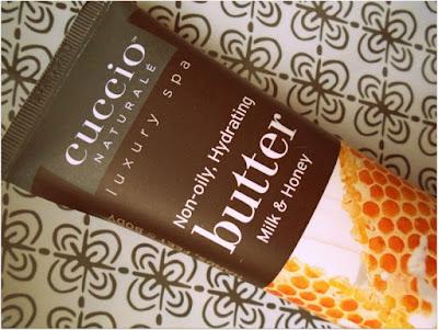 Luksusowe masło do dłoni miód i mleko Cuccio - kolejny kosmetyk na mojej czarnej liście.