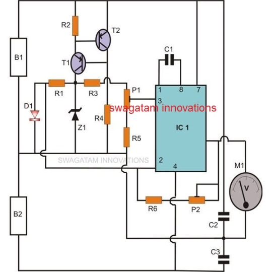 Simple Room Temperature Monitor Circuit