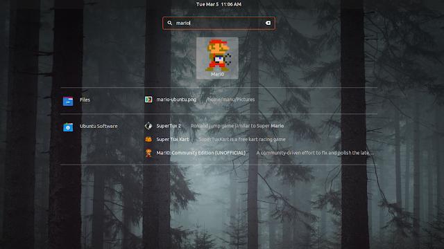 nintendo mario ubuntu