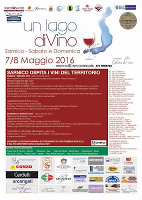 Un Lago diVino 7 e 8 Maggio Sarnico (BG) 2016
