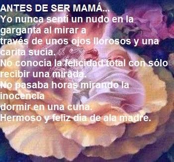 Poemasreflexiones Y Pensamientos Cristianos En El Día De La Madre