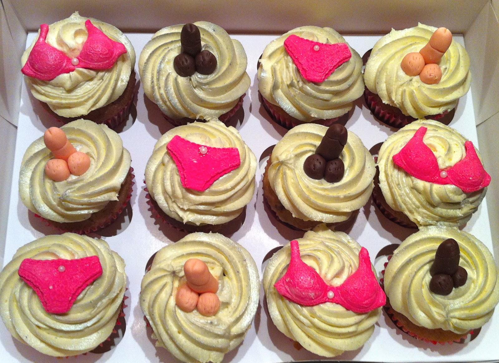 The Fondant Fairy Naughty Cupcakes